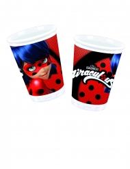 8 stk papkrus i plastik med Ladybug™ 200 ml
