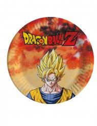 8 små tallerkner Dragon Ball Z™ 18 cm