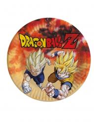 8 stk paptallerkener med Dragon Ball Z™ - 23 cm