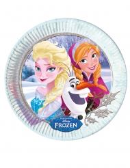 8 stk paptallerkener med Frost™ 23 cm