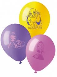 10 Balloner prinsesse Sofia™ 28 cm