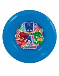 Dyb tallerken i plastik med Pyjamasheltene™ 16.5 cm