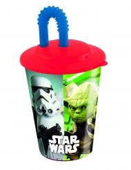 Star Wars™ Plastik krus med sugerør 400 ml