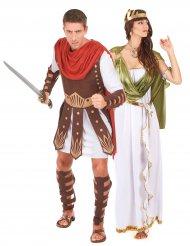 Par kostume gladiator og gudinde græsk romansk