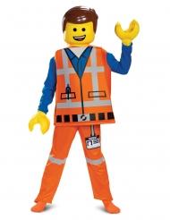Deluxe Emmet kostume til børn - Lego Filmen 2™