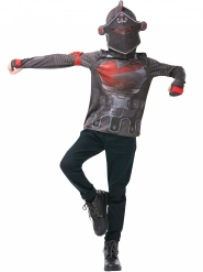 Black Knight Fortnite™ t-shirt og maske til teenagere