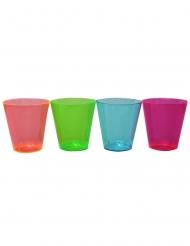 50 stk multifarvet shotglas 30 ml