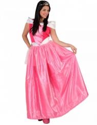 Lyserød prinsesse kostume kvinde