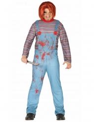 Dukke Kostume Djævelsk til voksne