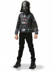 Darth Vader™ Tshirt og maske barn