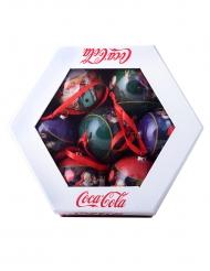 Coca-Cola™ julekugler 7 stk