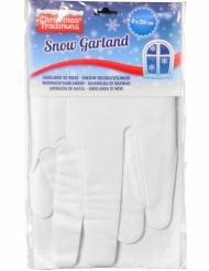 Sne guirlande til jul 33x120 cm