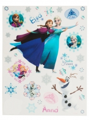 Vinduesdekoration med Elsa og Anna - Frost 30x20 cm