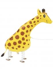 Gående giraf ballon metalliske 86,3 cm