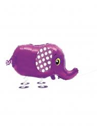 Aluminium ballon elefant der går 81,2 cm