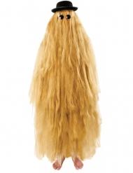 Langt hår kostume voksen