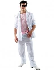 Kostume detektiv lyserød og hvid Florida voksen