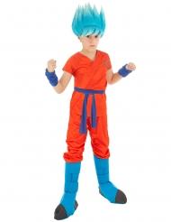 Goku Saiyan fra Super Dragon Ball Z™ kostume til børn