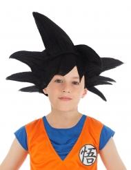 Sort Goku saiyan paryk til børn - Dragon Ball Z™