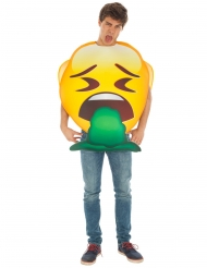 Emoji™ kostume til voksne - Kast op