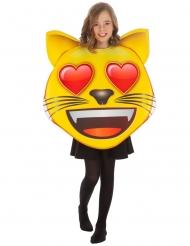 Katte med hjerte øjne kostume til børn - Emoji™