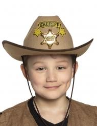Cowboy sherif hat barn