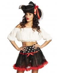 Pirat skørt kvinde
