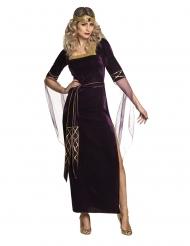 Middelalder kostume lady lilla kvinde
