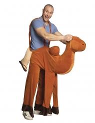 Mand på ryg af dromedar kostume voksen