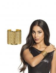 Guld armbånd dronning - voksen