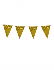 Guirlande med minivimpler guld 3 m