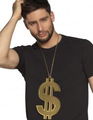 Halskæde 24 cm XL dollar voksen