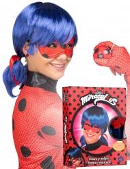 Boks med paryk og maske til voksne - Ladybug™
