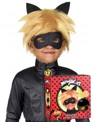 Cat Noir paryk og maske til børn - Miraculous™