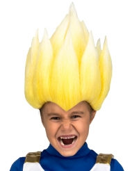 Gul super Saiyan Vegeta paryk til børn - Dragon Ball Z™
