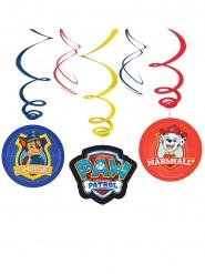6 stk spiral dekorationer med Paw Patrol™