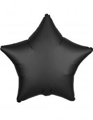 Aluminium ballon stjerne sort mat 43 cm