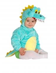 Tyrkis krokodille kostume til babyer