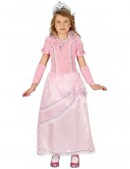 Lyserød prinsessekjole til piger