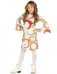 geometrisk disko kostume pige