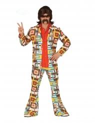 Disko geometrisk kostume mand