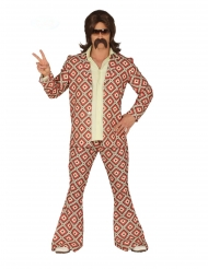 Kostume disko diamant mønster mand