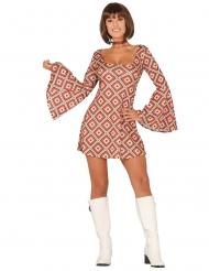 Disko kjole diamant kostume kvinde