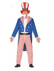 Amerikansk patriot kostume mand