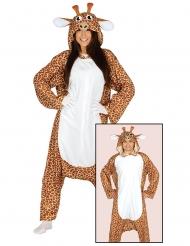 Kostume heldragt giraf voksen
