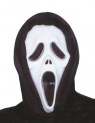 Sort og hvid maske i plastik psykopat morder voksen