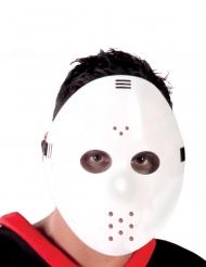 Hvid Hockey maske voksen