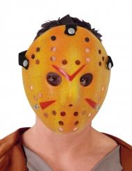 Hockey morder maske i hvid - voksen