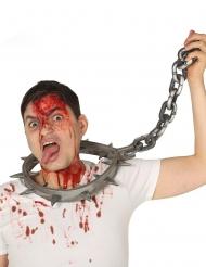 tortur halskæde med lås voksen 80 m