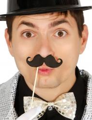 Photobooth kit 6 overskæg med pind